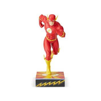 DC Comics by Jim Shore Flash Silver Age Scarlet Speedster Figurine New with Box