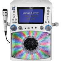 The Singing Machine Classic Series Cd And Cd+g And Mp3+g Karaoke Player With Lights