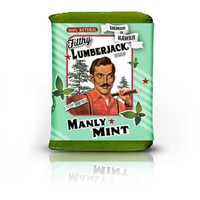 Filthy Lumberjack all natural glycerin BAR SOAP Manly Mint