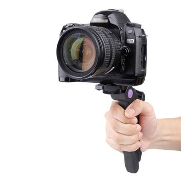 Portable 2in1 Hand Grip Tripod Stand