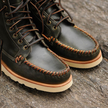 Ronnie Fieg for Sebago Thomas Boot - Forest | 7 Boots | Ronnie Fieg x Sebago