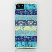 Lily & Lotus Layers iPhone & iPod Case by micklyn