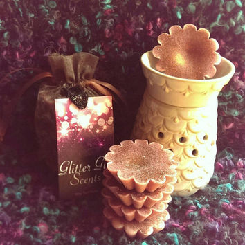 Autumn Scents, Sparkly Tart Melts Sampler Bag, Soy Wax, Autumn Bliss, Sweet Girl, Flirty Girl, Pumpkin Haze, For Scent Lovers