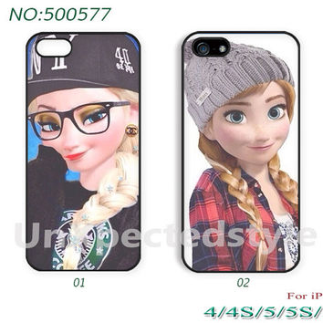 Disney frozen Phone Cases, iPhone 5 Case, iPhone 5S/5C Case, iPhone 4/4S Case, Disney frozen, Case for iPhone-500577
