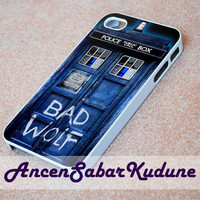 Bad Wolf Doctor Who - Phone case,iphone 4/4s,5/5s/5c/6/6+/Samsung S3/4/5/6/ ipod touch 4/5