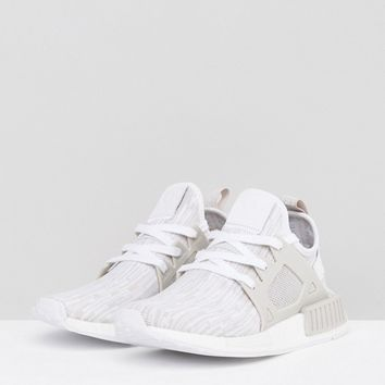 adidas Originals Beige NMD Xr1 Primeknit Sneakers at asos.com