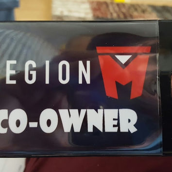 Legion M Co-Owner Luggage Laptop Book Bag Tag