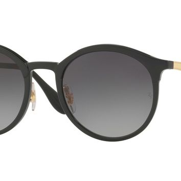 RAY BAN 0RB4277 Round Unisex Sunglasses Black