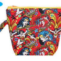 NEW Extra Large Knitting Bag | Wonder Woman | Project Bag | Tote | Large Zippered Project Bag | Knitting Bag