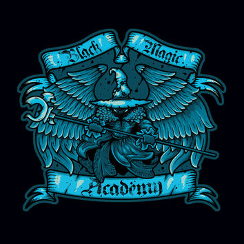 Black Magic Academy Art Print by Letter_q