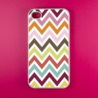 Iphone 4s Case - Colorful Chevron I.. on Luulla