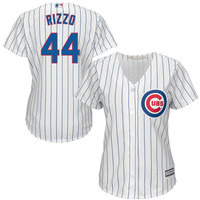 Majestic Kris Bryant Chicago Cubs Women's White Cool Base Player Jersey