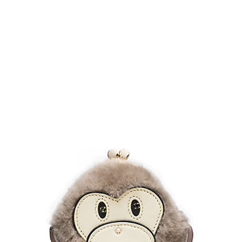 Kate Spade Caution To The Wind Monkey Coin Purse Multi ONE