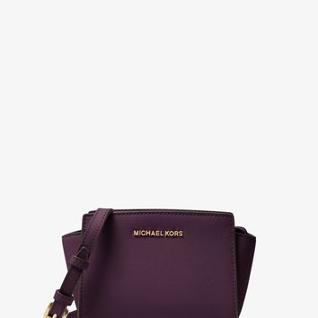 Selma Mini Saffiano Leather Crossbody | Michael Kors
