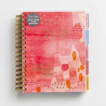 (in)courage - 2018 18-Month Agenda Planner