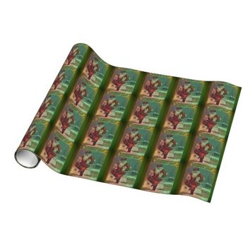 Best vintage christmas wrapping paper products on wanelo for Best christmas wrapping paper
