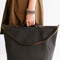 Jo Canvas + Leather Tote Bag-