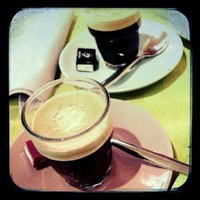 At the Cafe Fine Art Photograph espresso coffee by honeytree