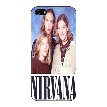 Nirvana Hanson iPhone 5/5S/SE Case