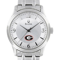 University of Georgia Men's Bulova Bracelet Watch | University Of Georgia,University of Georgia - Gwinnett