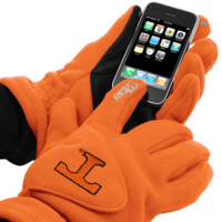 Tennessee Volunteers Tec Touch Fleece Gloves - Tennessee Orange - http://www.shareasale.com/m-pr.cfm?merchantID=7124&userID=1042934&productID=525374306 / Tennessee Volunteers