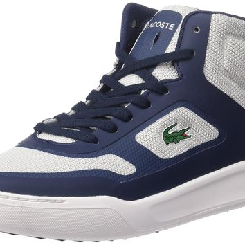 Lacoste Men's Explorateur Mid Spt 117 1 Casual Shoe Fashion Sneaker Navy 7.5 D(M) US '