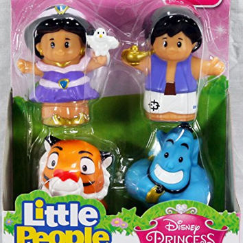 Fisher-Price Little People Disney Princess Jasmine & Friends Buddy Pack