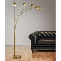 "Orbs 85"" Arched Floor Lamp"