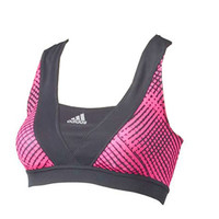 adidas Energy Print Racer Bra - Women's at City Sports
