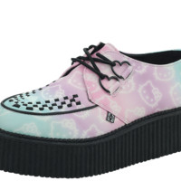 Pastel Hello Kitty Creepers from T.U.K.