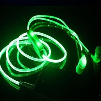 Sports Running Light Up Earphone Headphones