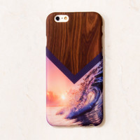 Wood Ocean iPhone 6 Case