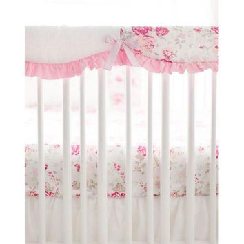 Crib Rail Cover | Nostalgic Rose