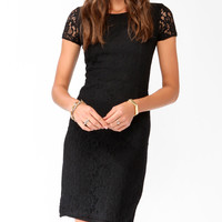 Essential Paneled Lace Dress