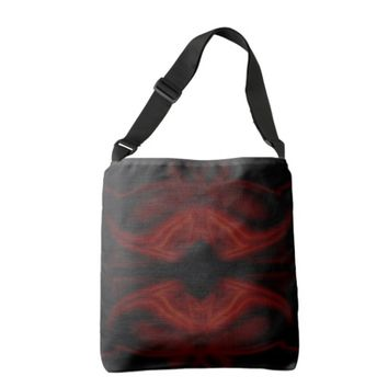 Scarlet Bat Tote Bag