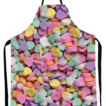 FYDELITY- Kitch-O'Licious- OVEN MITT/ POT HOLDER: Candy Hearts
