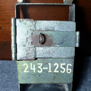 Metal Electrical Lock Gate || Vintage Mountable Industrial Lock Box