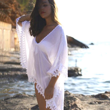 Sexy Vintage  Swimsuit Cover up