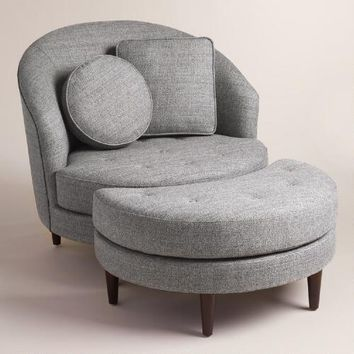 Gray Seren Round Seating Collection