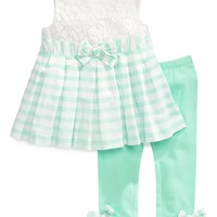 First Impressions Baby Girls' 2-Piece Tunic & Leggings Set