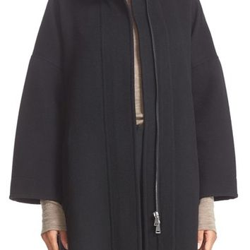 Vince Stand Collar Wool Coat | Nordstrom