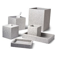 Contours Stone Bath Accessories by Mike + Ally