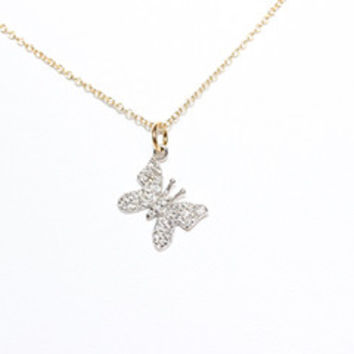 Little New Life Butterfly Necklace