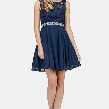 Elegant short formal dress dq9659