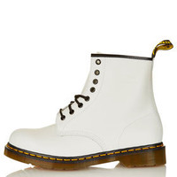 8-Eye Boots by Dr Martens - Brands at Topshop  - Shoes
