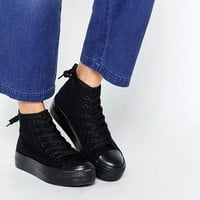 New Look High Top Platform Sneaker