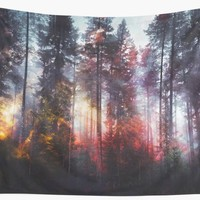 'Warm fuzzy feelings' Wall Tapestry by happymelvins
