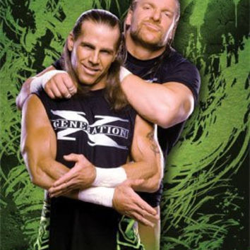 DX POSTER - GENERATION X WRESTLING WWE - RARE NEW 24X36