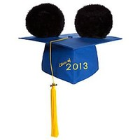 Mickey Mouse Ear Hat Graduation Cap for Adults | Disney Store