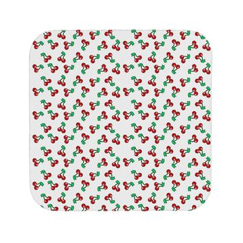 Cherries Everywhere Coaster by TooLoud